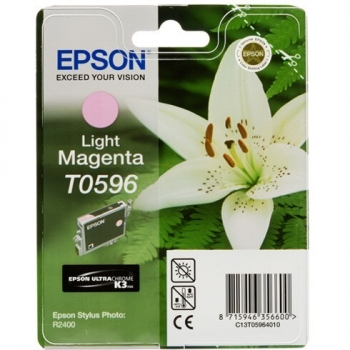 Cartus Cerneala Epson T0596 Light Magenta 13ml for Stylus Photo R2400 C13T05964010