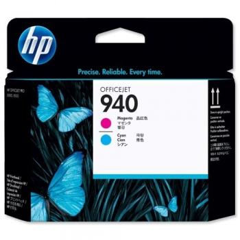 Cap Printare HP Nr. 940 Magenta & Cyan for OfficeJet Pro 8000, 8000 Enterprise, 8000 Wireless, 8500, 8500 WIRELESS, 8500A E-AIO, 8500A Plus E-AIO C4901A