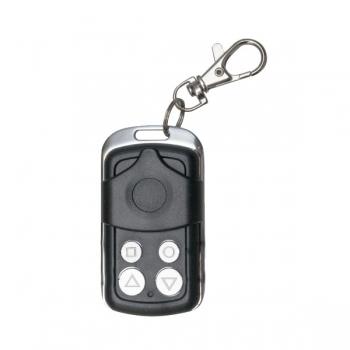 Emulator telecomanda AJ-D-SM-01 cu 4 butoane, folosit pentru copierea celor mai cunoscute 12 branduri de telecomenzi din lume.