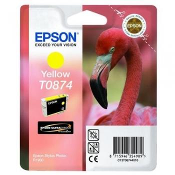 Cartus Cerneala Epson T0874 Yellow 11.4ml for Stylus Photo R1900 C13T08744010
