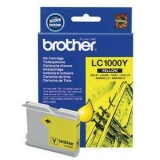 Cartus Cerneala Brother LC1000Y Yellow capacitate 400 pagini for Brother MFC 5460CN, DCP-330C, DCP-357C, DCP-560CN, DCP-770CW, MFC-440CN, MFC-465CN