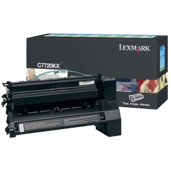 Cartus Toner Lexmark C7720CX Cyan Extra High Yield Return Program 15000 Pagini for C772N, X772N