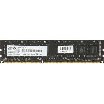 Memorie RAM AMD 8GB DDR3 1333MHz CL9 Entertainment Edition Bulk AE38G1339U1-UO