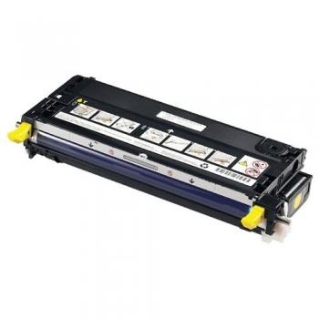 Cartus Toner Dell NF556 / 593-10173 Yellow 8000 Pagini for Dell 3110CN, 3115CN