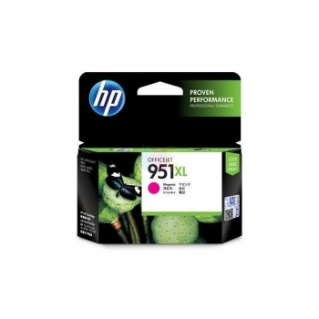 Cartus Cerneala HP Nr. 951XL Magenta 1500 Pagini for Officejet Pro 8100 N811A, Officejet Pro 8600 N911A CN047AE