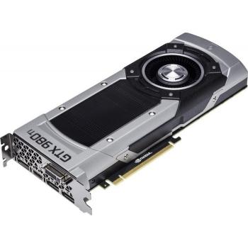 Placa Video nVidia Geforce GTX980Ti 6GB GDDR5 384bit PCI-E x16 3.0 DVI HDMI DisplayPort NE5X98T015JBF