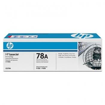 Cartus Toner HP Nr. 78A Black 2100 Pagini for Laserjet M1536DNF, LaserJet Pro P1566, LaserJet Pro P1606DN CE278A
