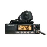 Statie radio CB President JOHNSON II ASC HIGH 24/12V 40 CH AM/FM, Multi Norme, format DIN incastrabil , difuzor frontal, MEM, DW, Beep Scan TXMU667