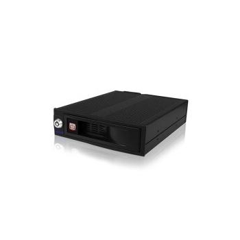 HDD Enclosure RaidSonic Icy Box IB-170SK-B Enclosure for 3.5 inch SATA HDD Hot Swap Aluminium Black