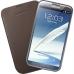 Husa Samsung pentru N7100 Galaxy Note II din piele Maro EFC-1J9LCEGSTD