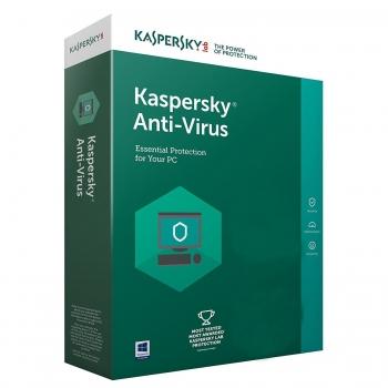 Kaspersky Anti-Virus 1 utilizator, 1 an, retail KL1171X5AFS