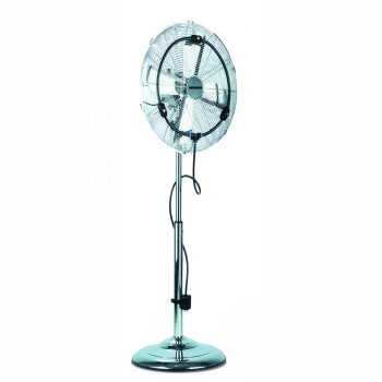 Ventilator cu picior Heinner HMF-1500WM, 60W, 46cm diametru, metal