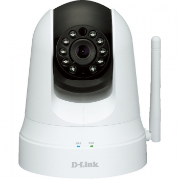"Camera de supraveghere IP D-Link DCS-5020L 1/5"" CMOS 640x480 22mm H.264 Motion JPEG WiFi Retea"