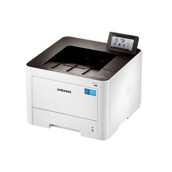 Imprimanta laser mono Samsung SL-M4025NX/SEE, Dimensiune:A4, Viteza: 40 ppm, Rezolutie: 1200x1200 dpi, Procesor: 1 GHz, Memorie: 1GB, Limbaje d eprintare: PL / PostScript3 / PCL6 / PCL5e / IBM ProPrinter / EPSON / PDF , Ecran tactil color LCD de 4,3 inchi