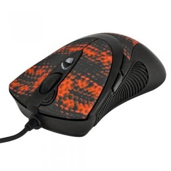 Mouse A4Tech XL-740K Oscar Laser 6 Butoane 3600dpi Black/Red