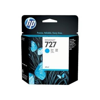 Cartus Cerneala HP Nr. 727 Cyan 40ml for DesignJet T1500 ePrinter, T920 ePrinter B3P13A