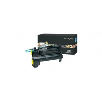 Cartus Toner Lexmark C792X2YG Yellow Extra High Yield 20000 pagini for C792DE, C792DHE, C792DTE, C792E