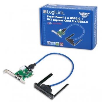 Adaptor PCI-E - USB 3.0 LogiLink PC0058