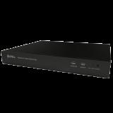 NVR Sunell 8 canale FullHD, inregistrare pana la 8 canale 1920x1080P@25FPS, contine 8 porturi PoE 802.3af 10/100Mbps cu functie de auto-configurare a camerelor IP Sunell, decodare H.264 High Profile 4.2, latimea maxima de banda 36Mbps (8 x 4.5Mbps/canal)
