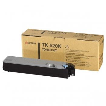 Cartus Toner Kyocera TK-520K Black 6000 Pagini for Kyocera Mita FS-C5015N