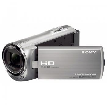 Camera Video Sony HDR-CX220E 8.9MP Zoom optic 27x Zoom Digital 320x Full HD Silver HDRCX220ES.CEN