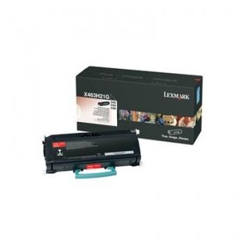 Cartus Toner Lexmark X463H21G Black 9000 pagini for X463DE, X464DE, X466DE, X466DTE, X466DWE