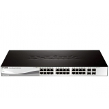 Switch D-Link DGS-1210-28 24xRJ-45 10/100/1000Mbps + 4xCombo SFP