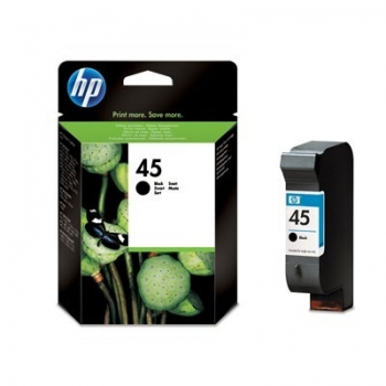 Cartus Cerneala HP Nr. 45 Large Black 42 ml for DeskJet 850 51645AE