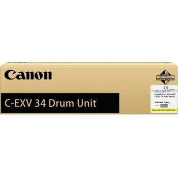 Unitate Cilindru Canon C-EXV34Y Yellow 36000 Pagini for IR Advance C2020L, IR Advance C2030L CF3789B003BA