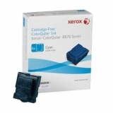 Xerox ColorQube ink cyan pentru Colorqube 8870 (6 sticks), dmo, 17300 pages