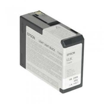 Cartus Cerneala Epson T5809 Light Light Black for Epson Stylus Pro 3800, 3880 C13T580900