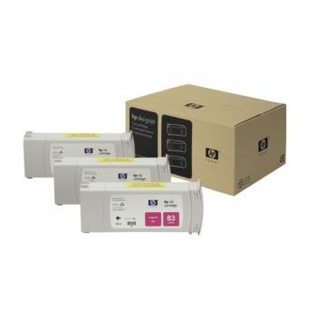 Pachet Cartus Cerneala HP Nr. 83 UV Magenta 3 Bucati 680 ml for Designjet 5000/UV, Designjet 5500 42', Designjet 5500 60', Designjet 5500 PS 42', Designjet 5500 PS 60' C5074A