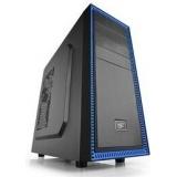 Carcasa Middle Tower Deepcool TESSERACT BF Ventilatoare 1x120mm 1x USB 3.0 1x USB 2.0 2x 3.5 mm jack black