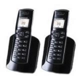 "Telefon Dect Sagem D150Duo, display alfanumeric alb-negru,1 linie pt text si 2 linii icons, Caller ID, agenda 50 numere,numar sonerii 10, ceas, alarma, sunet digital,functia ""mute"", compatibil functia GAP(pana la 6 dispozitive), 2 baterii AAA,"
