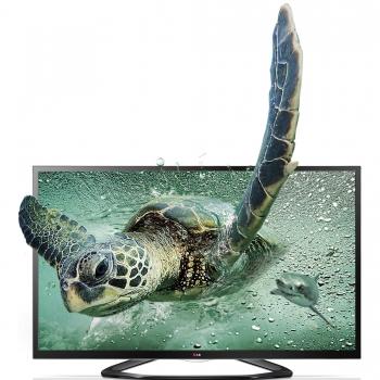 """Televizor LED LG 47"""" 47LA660S Smart TV Full HD 3D Wireless Retea RJ45 DLNA WiDi"""
