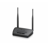 Wireless Router, 802.11n, 300 Mbps, 64/128 bit WEP, WPA-PSK/WPA2-PSK, Access Point & Universal Repeater mode, 2 external antennas 5 dBI