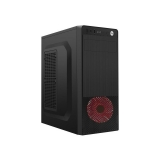 Carcasa Middle Tower Gembird Fornax 1x USB 2.0 1x USB 3.0 2x jack 3.5mm red