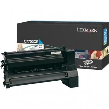Cartus Toner Lexmark C7702CS Cyan 5000 pagini for C770N, C772N, X772N