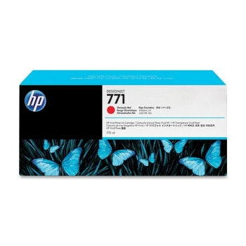 Cartus Cerneala HP Nr. 771 Chromatic Red 775 ml for Designjet Z6200 42', Designjet Z6200 60' CE038A