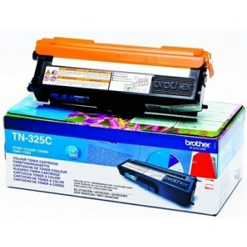 Cartus Toner Brother TN325C Cyan 3500 pagini for DCP-9055CDN, HL-4140CDN, HL-4150CDN, MFC-9460CDN