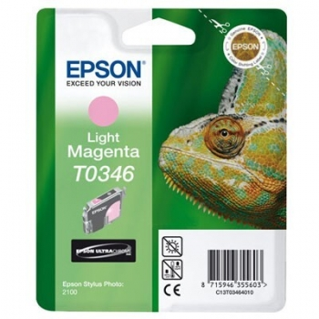 Cartus Cerneala Epson T0346 Light Magenta 440 Pagini for Stylus Photo 2100 C13T03464010