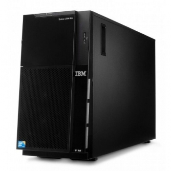 Server IBM Express x3500 M4 Tower 2x Socket 2011 Intel Xeon E5-2620 2.0GHz 8GB DDR3 HDD 3x300GB 7383K1G