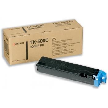 Cartus Toner Kyocera TK-500C Cyan 8000 Pagini for Kyocera Mita FS-C5016N