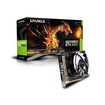 Placa Video Sparkle nVidia GeForce GTX 650 Ti 1GB GDDR5 128bit PCI-E x16 3.0 HDMI DVI VGA SX650TI1024KC