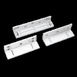 Suport inoxidabil SB-150ZLA din duraluminiu Pentru montarea electromagnetilor SM-150A la usi cu deschidere in interior