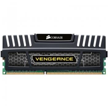 Memorie RAM Corsair Vengeance Black 8GB DDR3 1600MHz CL10 CMZ8GX3M1A1600C10