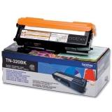 Cartus Toner Brother TN320BK Black 2500 pagini for DCP-9055CDN, HL-4140CN, HL-4150CDN, MFC-9460CDN
