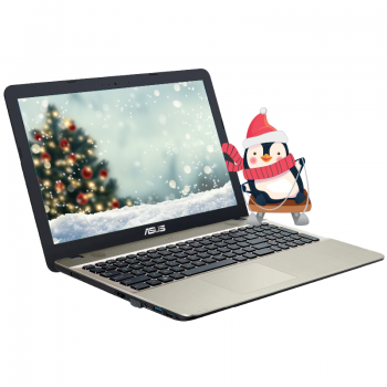 Laptop Asus VivoBook X541UA Intel Core i3-7100U Kaby Lake Dual Core 2.4GHz 4GB DDR4 HDD 1TB Intel HD 620 15.6 HD X541UA-GO1372