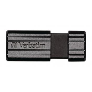 Memorie USB Verbatim PinStripe 32GB USB 2.0 Black 49064