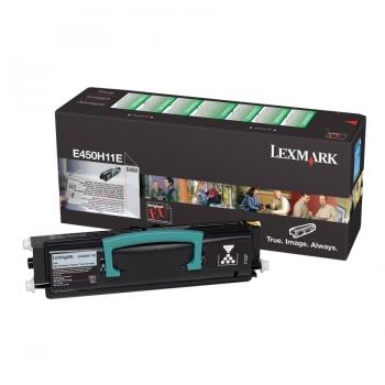 Cartus Toner Lexmark E450H11E Black High Yield Return Program 11000 pagini for E450DN